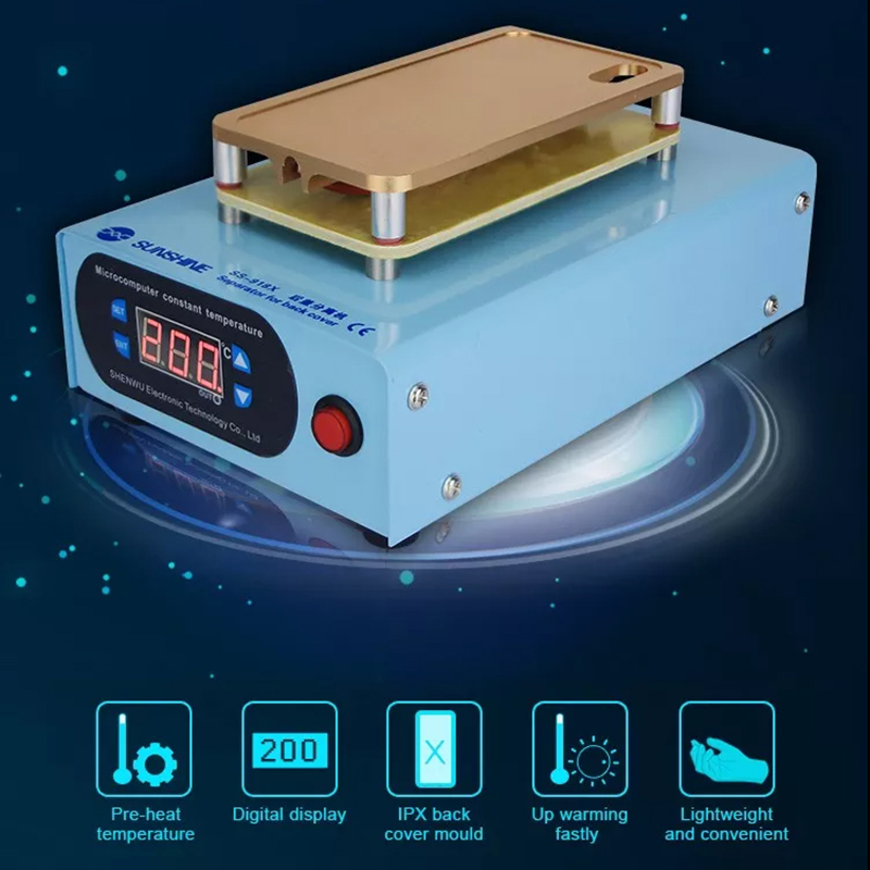 US $70 84 30% OFF 220V 450W Back Cover Separator Machine for iPhone X  Broken Back Screen Glass Remover Teardown Separating Repair Tools-in Hand  Tool