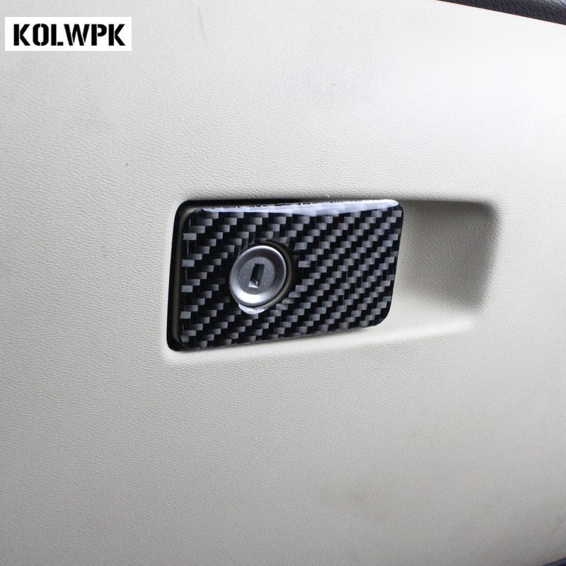 Birch Light Metallic Volvo V60 With Styling Kit: Car Styling Copilot Glove Box Decorative Carbon Fibre Trim