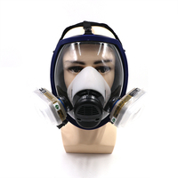 7 Piece Suits Painting Spraying Similar For 6800 Gas Mask N95 Full Face Facepiece Respirators for Painting Filter Pesticide Mask