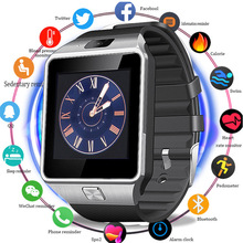 Smart Watch DZ09 Phone With Camera Sim TF Card Android Bluetooth SmartWatch Phone Call Bracelet Watch for Android 2019 Men Women bluetooth smart watch men dz09 sport men s watch for phone android call sim card camera smart watches clock relogio intelligent