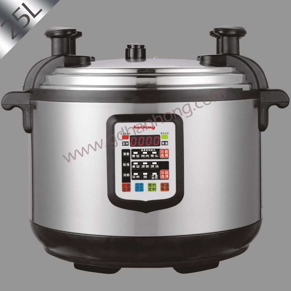 Home Electric Cooker ~ L commercial large capacity electric pressure cooker in