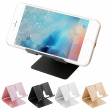 Universal Metal Phone Holder Stand Desk Mount for iPhone iPad Samsung T