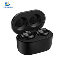 TWS T5S True Bluetooth 5.0 Earphones Wireless earphone 8D Stereo HF Earphone Handsfree Sports Earbuds Gaming Headset