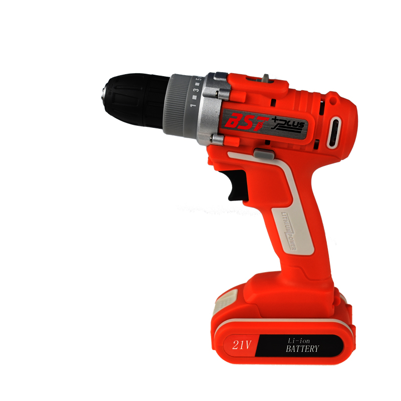 BST+PLUS(THIRD STYLE)21V LITHIUM-ION BATTERY CORDLESS ELECTRIC HAND DRILL HOLE ELECTRICAL SCREWDRIVER DRIVER WRENCH POWER TOOLS bst plus one style 16 8v lithium battery 2 speed cordless drill mini drill hand tools electric drill power tools screwdriver