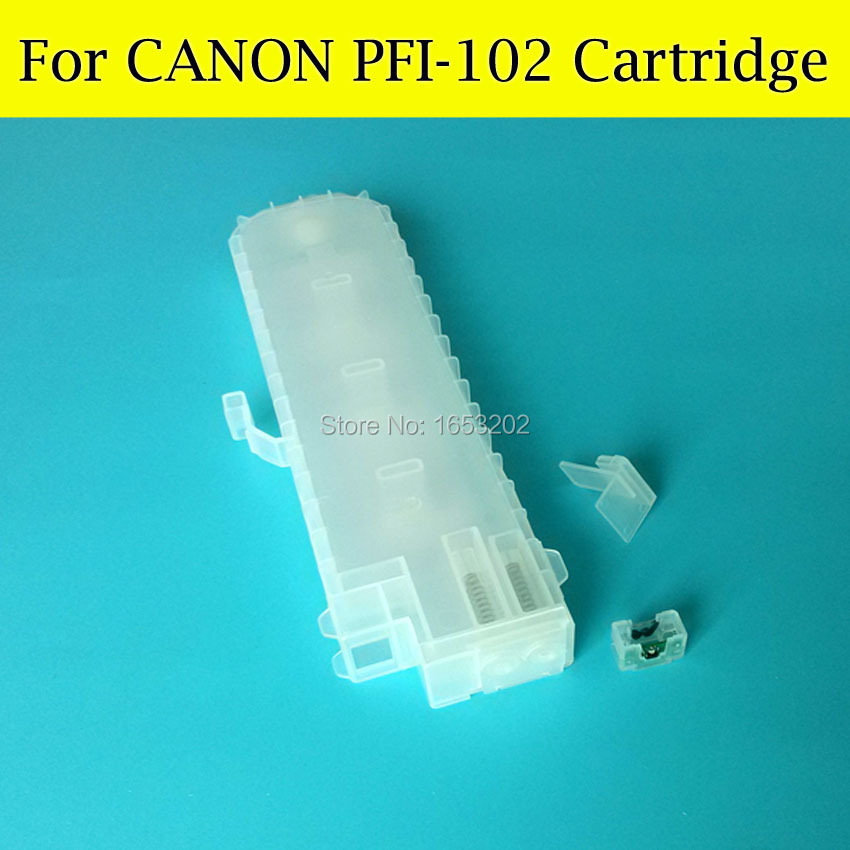 6 Color/Set For Canon PFI-102 PFi 102 Ink Cartridg With ARC Chip For Canon 610 710 700 iPF610 iPF605 iPF710 iPF720 Printer pfi 102 130ml 5 pack compatible ink cartridge for imageprograf ipf605 ipf610 ipf700 ipf710 ipf720 printers