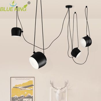 Scandinavian post modern simple creative personality restaurant pendant lamp American industrial showcase pendant lights