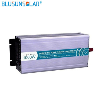 DC/AC 1000W 12v/24v/48v pure input sine wave power inverter to110v 220v 230v  50/60hz inverter