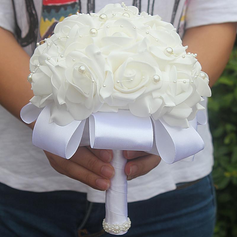Foam Bridal Bouquet 24