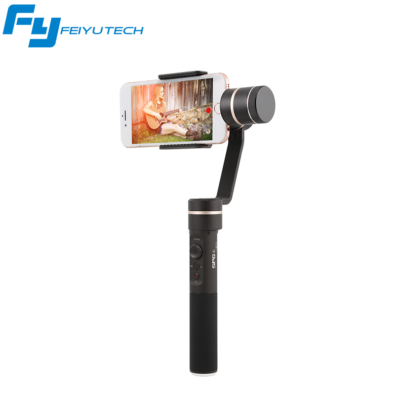 FeiyuTech SPG c 3 Axis Gimbal Handheld Smartphone Stabilizer for iPhone Xiaomi Samsung S7 Zoom Button