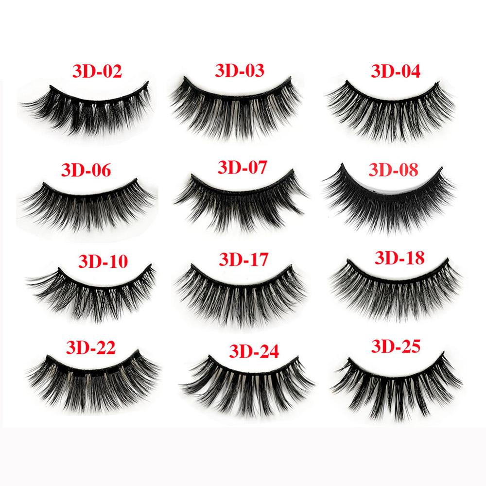 d0ebbcd4068 3 Pairs/Set 3D Cross Thick False Eye Lashes Extension Makeup Super Natural  Long Fake Eyelashes #288327