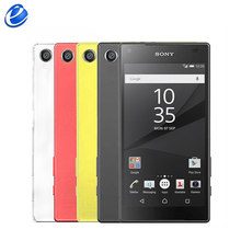 "Original Unlocked Sony Z5 Compact(mini) E5823 NFC 4.6"" 4G LTE Android Mobile Cellphone RAM 2GB ROM 32GB GSM WIFI GPS Smartphone(China)"