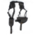 Militar do exército tactical gear 1050D nylon axila discrição munição cartuchos de pistola Saco de agentes DO FBI mochila voodoo elástico clipe