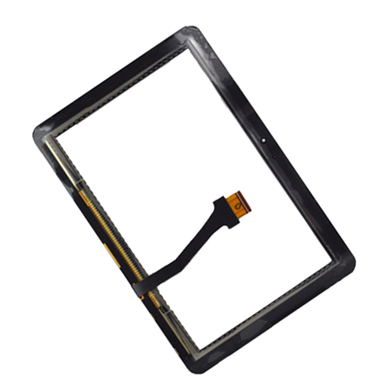 Black For Samsung Galaxy Tab 10.1 P7500 P7510 Digitizer Touch Screen Panel Sensor Glass Replacement