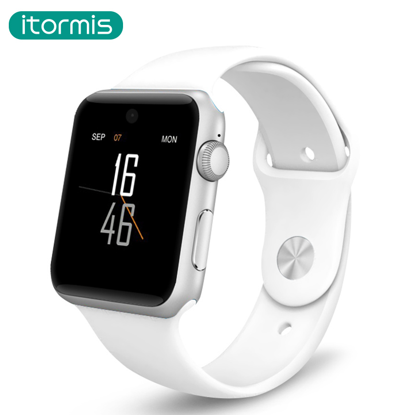 itormis W58 Bluetooth Smart Watch HD Screen Support Camera SIM Card Wearable Devices SmartWatch For apple Android PK DZ09 GT08 dz09 smart watch bluetooth smartwatch for apple samsung android ios phone wearable watch smart mobile syn sim pk gt08 gv18 m26
