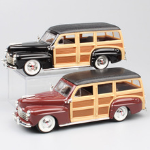 1/43 Scale brand mini vintage 1948 Ford Woody woodie diecast & vehicles metal model Auto cars toy gifts for children collection