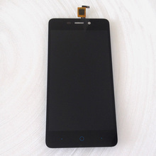 Black Full LCD DIsplay + Touch Screen Digitizer Assembly For ZTE Blade X3 Free shipping Russia