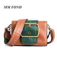 MM FOND simple marque de mode design madame sac à bandoulière généralement vert couleur femelle croix corps sac à main chic fille messenger bag179