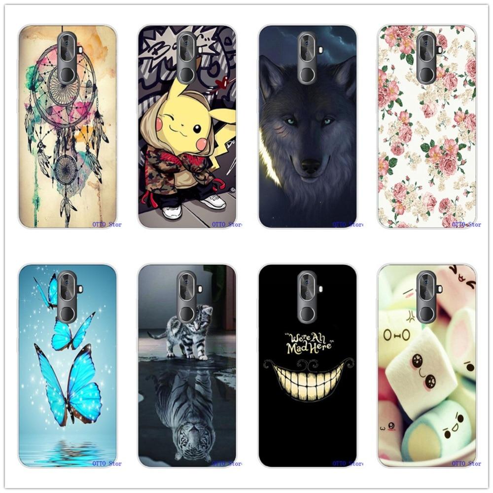 Glossy Silicone Case Protector TPU Bumper Back Cover Phone Funda Custodia Housse Coque for OUKITEL K8 K9 Smartphone(China)