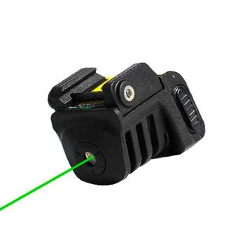 USB Rechargeable Pistol Mini Red / Green Laser Tactical Military Gear For Almost Glock Colt 1911 Taurus Handgun Compact Pistol