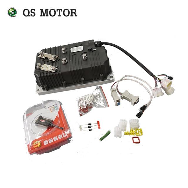 Kelly QSKLS96501 8080H Controller 500A, Sine Wave BLDC Motor