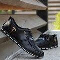 Мужская Обувь Zapatos Hombre 2016 Новая Мода PU Повседневная Обувь Мужчины Горячие Мужские Обувь Повседневная