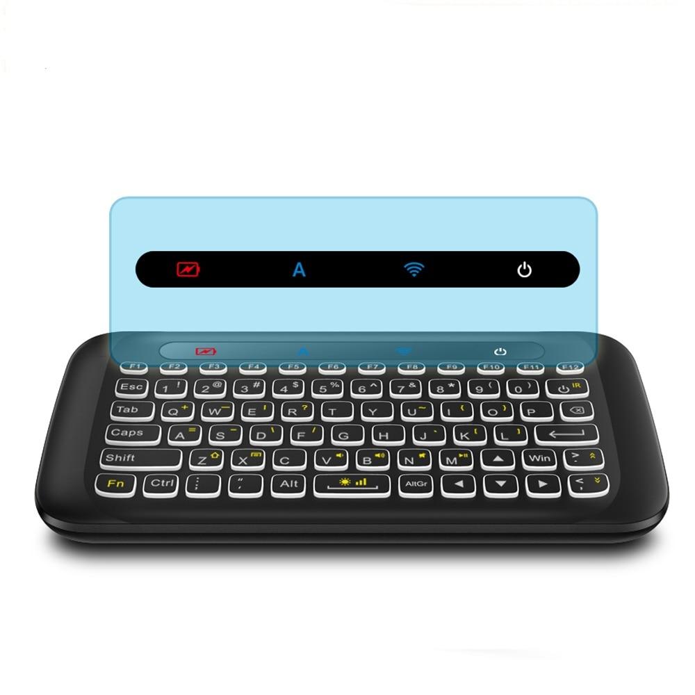 Heimelektronik Zubehör Unterhaltungselektronik Mini Universal Fernbedienung 2,4g Backlit Fly Air Mouse Gyro Drahtlose Tastatur Für Smart Pc/tv Box Android Windows Mac Os Linux