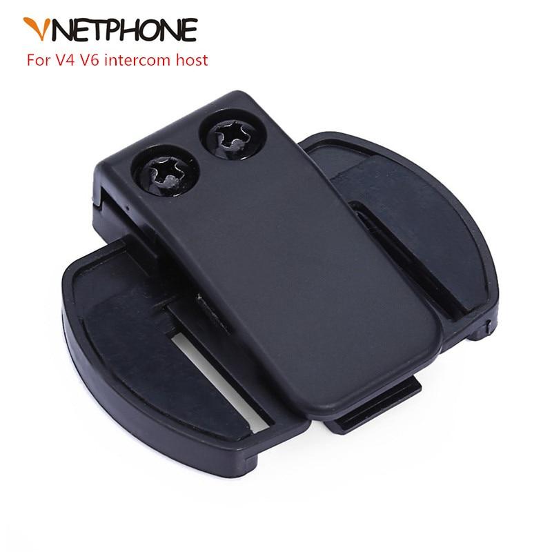 1PC V6/V4 BT Multi Interphone Accessory (Clip) Bracket Suitable For V2-500C Motorcycle Bluetooth Helmet Headset