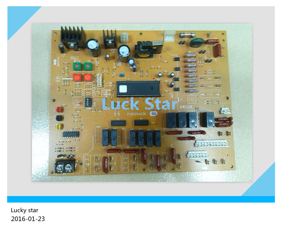 95% new for Mitsubishi Air conditioning computer board circuit board RFC280KX-KT PCB505A038BB good working big togo main circuit board motherboard pcb repair parts for nikon d610 slr