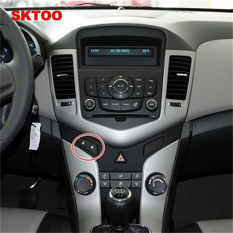 Sktoo For Chevrolet Cruze Door Lock Switch Button