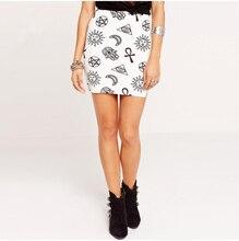 FFTAIQI new street fashion spring summer all mtach woman skirt leisure classic cartoon print slim show thin women short skirts