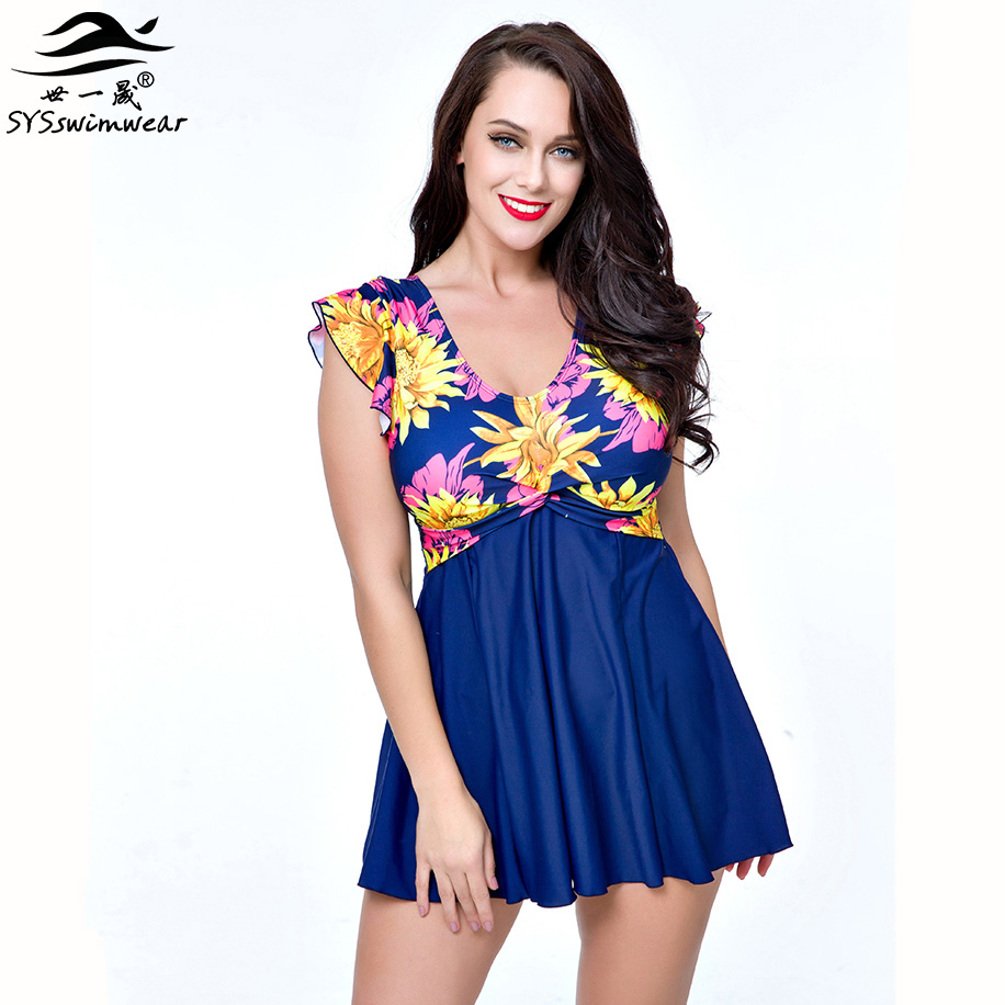 High quality Plus Size Floral Retro Sexy Women One Pieces Swimwear Cover shoulders Backless Swimsuit Summer Beach Bathing suit backless sexy women one piece swimsuit floral summer beach wear retro swimwear bathing suit plus size one pieces