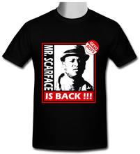 9cc3d0144ec59 Senhor Scarface está de Volta Do Vintage orgulho camiseta Gildan T-shirt  preto tamanho Casual Cool homens Unisex Nova Moda tshir.