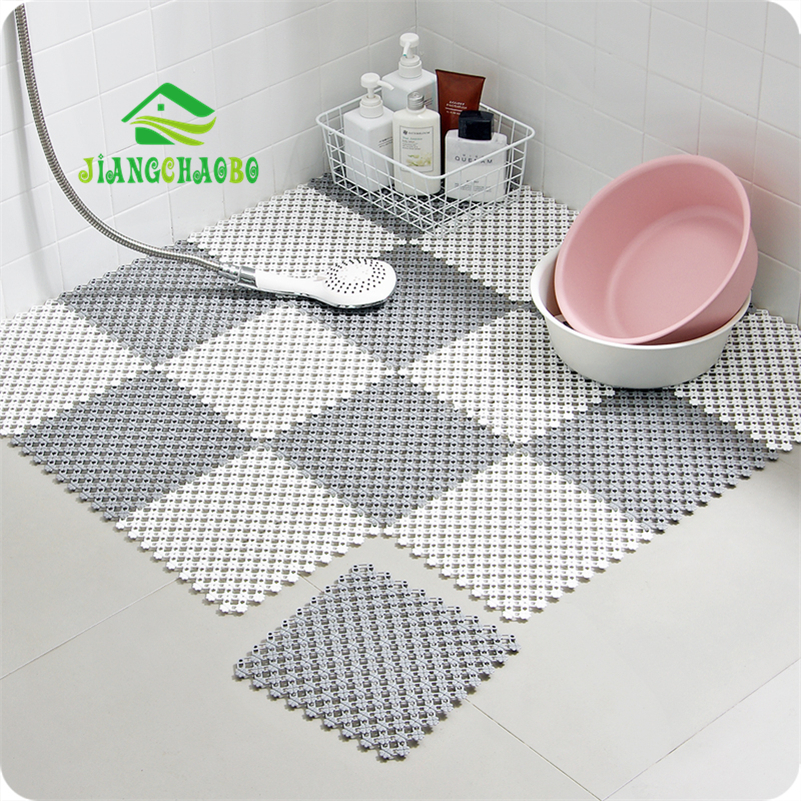 1pc Large Bathroom Rugs Anti Slip Mat Safety Tub Shower