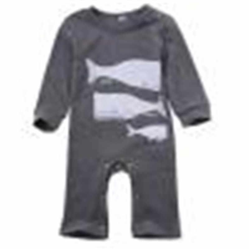 Осенне-зимний комбинезон для новорожденных с длинными рукавами; хлопковый комбинезон для маленьких мальчиков и девочек; комбинезон; одежда