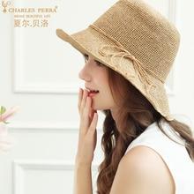 Straw Sunscreen Hat Spring Summer Female Sunshade Hats Casual Holiday Beach Cap