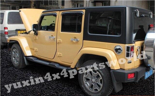 4 Porta Mopar OEM Estribo Lateral Passo Nerf Bar Para 2007   2015 Jeep  Wrangler JK