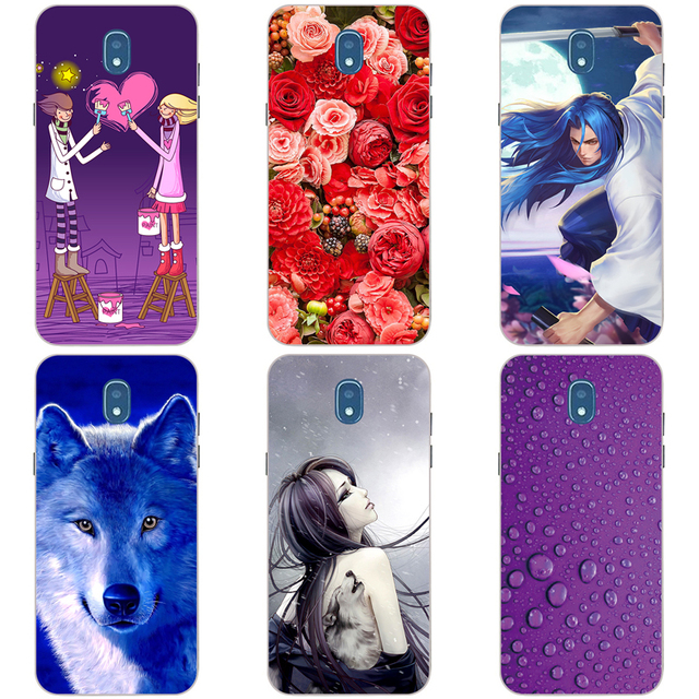 size 40 de5c1 503a1 US $3.99 |For Samsung Galaxy J7pro J7 2017 Hard Plastic Cover For Samsung  J7 pro 2017 J730F Original Printed Cute Animal Phone Case-in Half-wrapped  ...