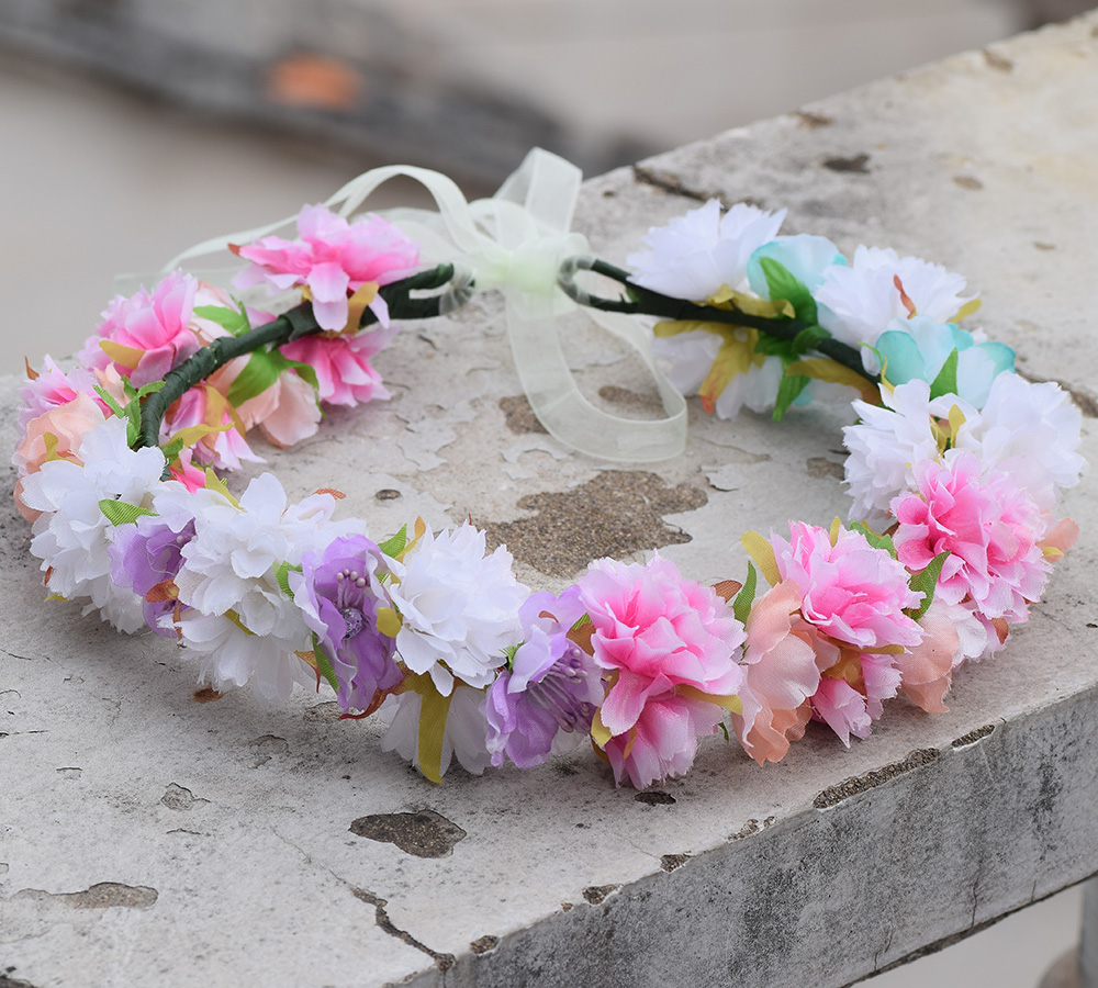 Wedding White Flower Crown: Aliexpress.com : Buy CXADDITIONS Delicate Bridal White