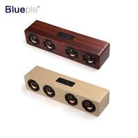 2017 New Design Bluetooth Speaker 4 HiFi Speakers TF Card AUX Subwoofer Portable Speaker For TV