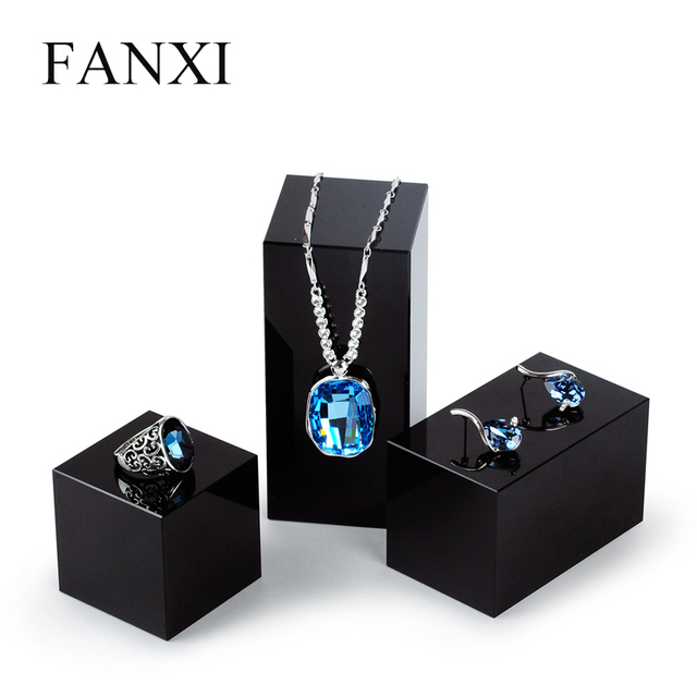 Aliexpresscom Buy FANXI Free Shipping Exquisite Black Crystal