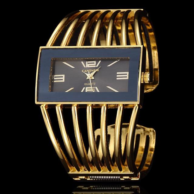 Women Quartz Dress Watch Luxury Brand Bracelet Watches Lady Fashion Stainless St