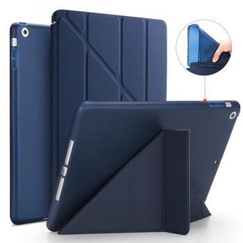 Etui na iPad Air etui z podstawką Flip na ipad 9 7 2017 2018 etui ze skóry PU na ipad 5th 6th Gen smart cover na ipad Air 1 etui tanie i dobre opinie AIYOPEEN Osłona skóra 9 7 CN (pochodzenie) for A1474 A1475 A1476 Stałe 9 7inch Dla apple ipad Moda for iPad Air 1