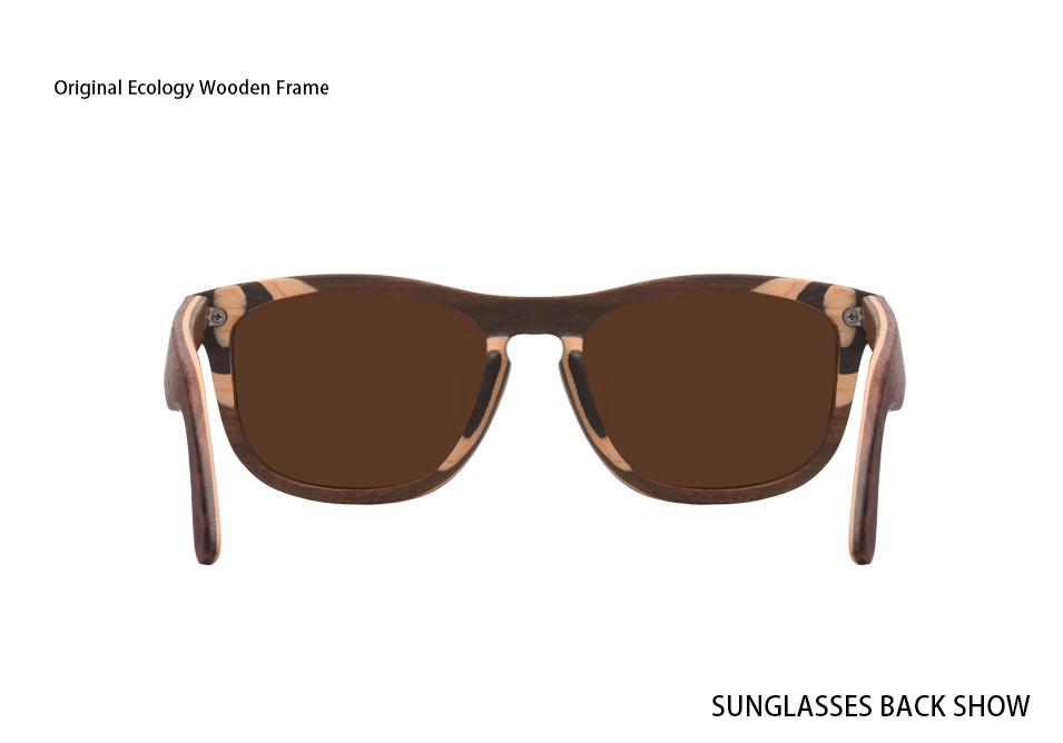b40a17687 AOFLY BRAND DESIGN Men Sunglasses Polarized Mirror Lens Wooden Sun Glasses  Classic Square Frame Male Oculos de sol UV400 AF620