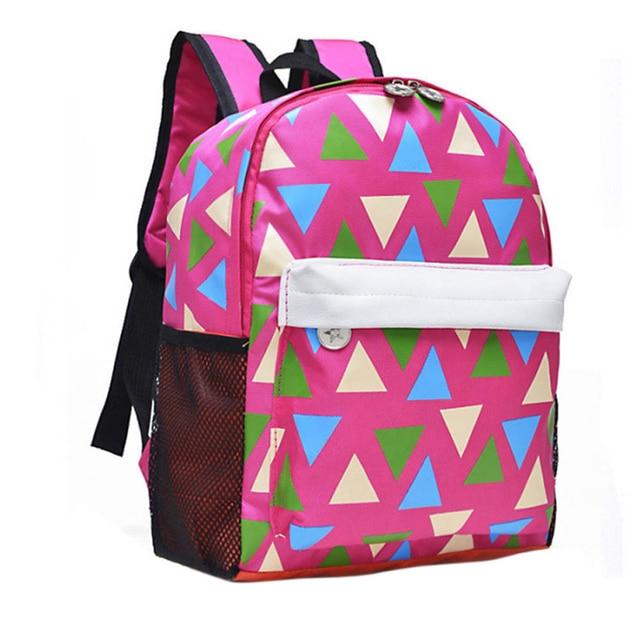 52510395165 New brand Backpack 2016 fashion Children School Bag Cute Baby Toddler  Canvas Shoulder Bags for boys girls mochila feminina