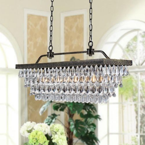 LASS 4 LIGHT Ceiling Lamp CRYSTAL CHANDELIER PENDANT Modern Living SQUARE TOP lass minnesota bicent series cloth