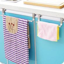 Multi-funcional Puerta de cocina toalla sobre titular gancho para cajón almacenamiento bufanda para baño percha del gabinete