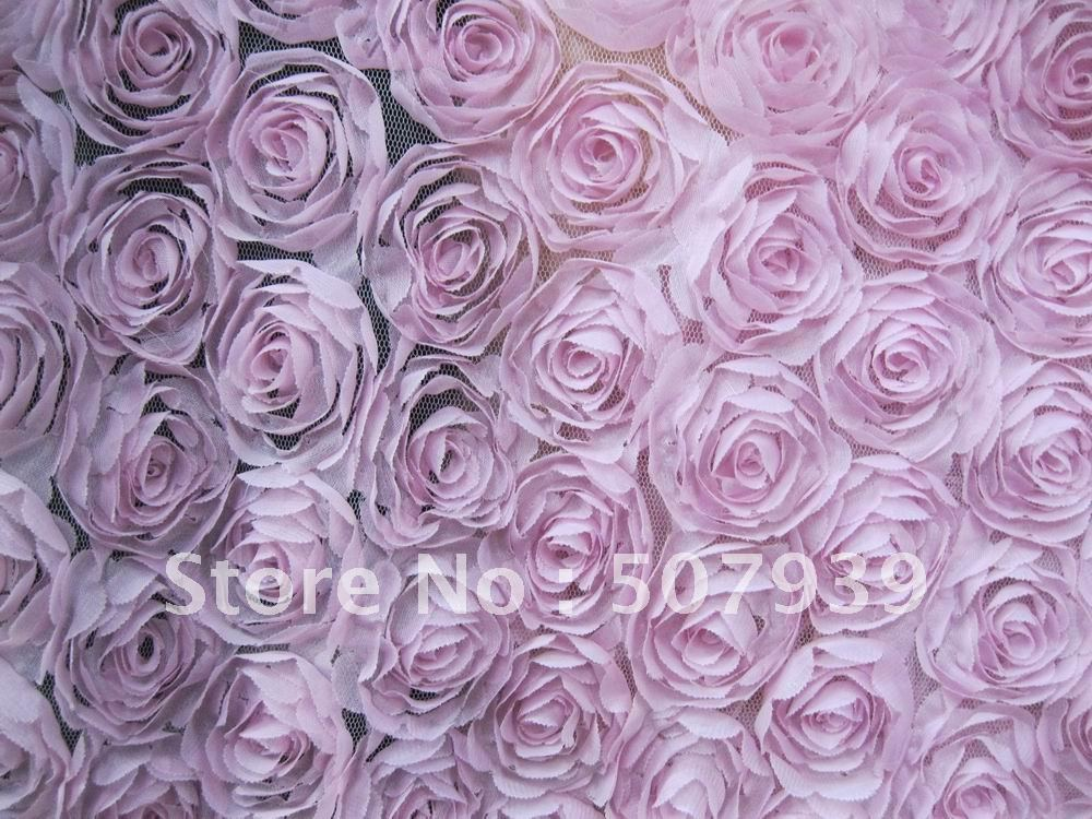 """15y 4"""" 3D шифон розы фотография задней падение, крышка, Шторы, подушки, свадьбы, костюм, платье с вышивкой ткань"""