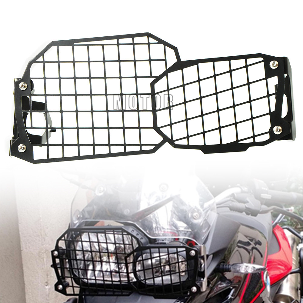For <font><b>BMW</b></font> F800GS F700GS F650GS Twin 2008 On Motorcycle Headlight Protector Grille Guard Cover Hand Light Grille <font><b>F</b></font> 800 <font><b>700</b></font> 650 <font><b>GS</b></font> image