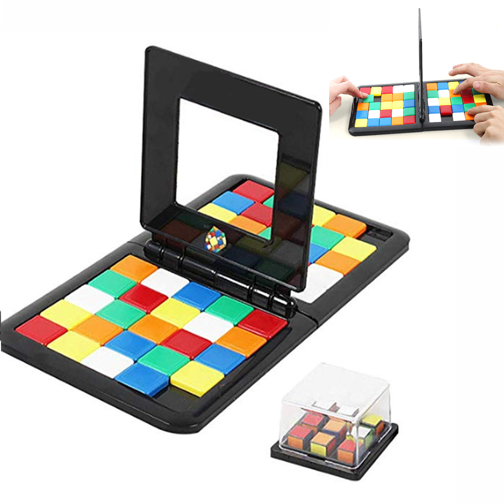 Rubike Race Parent-child Family Party Interactive Cube Game Board