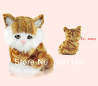 free shipping lucky cat coins bank